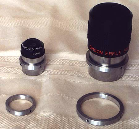 2 inch & 1.25 Parfocal Rings